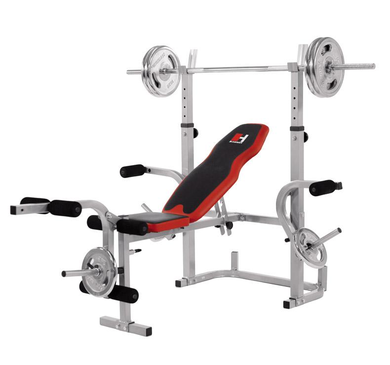 banc de musculation hammer bermuda xt 4507